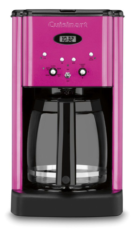 cuisinart hot pink appliances