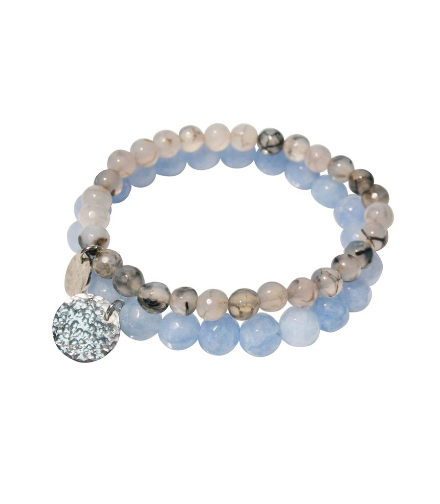 Purpose Jewelry Stone Bracelet In Periwinkle