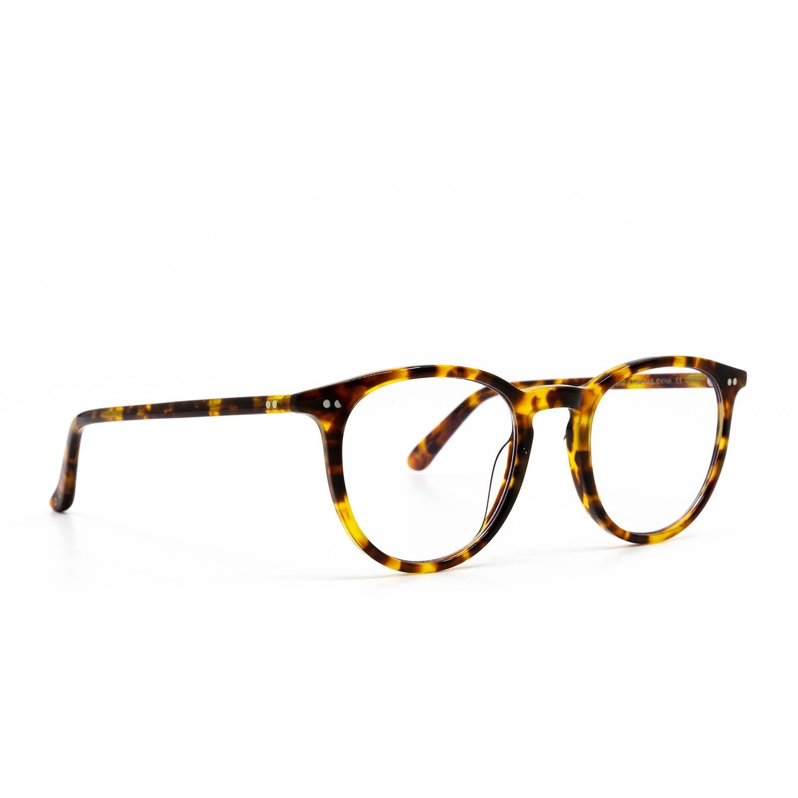 Diff Eyewear In Haze Amber Tortoise Organic Bunny